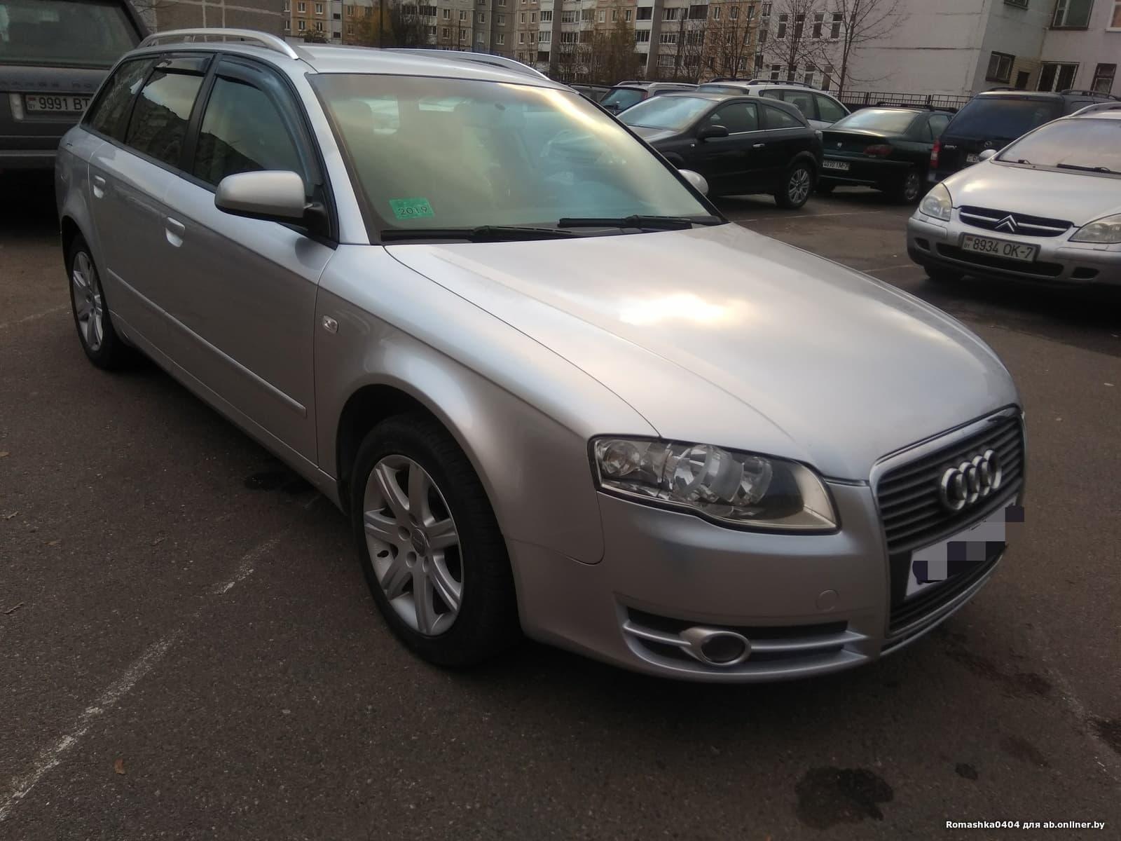 Audi A4 A4 B7 1.9TDi 5МКПП