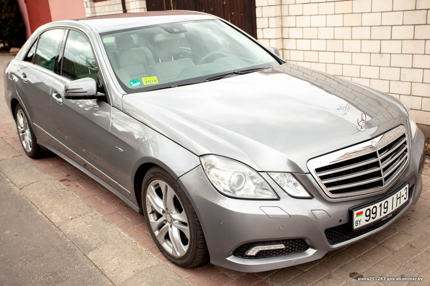 Mercedes-Benz E350 CGI