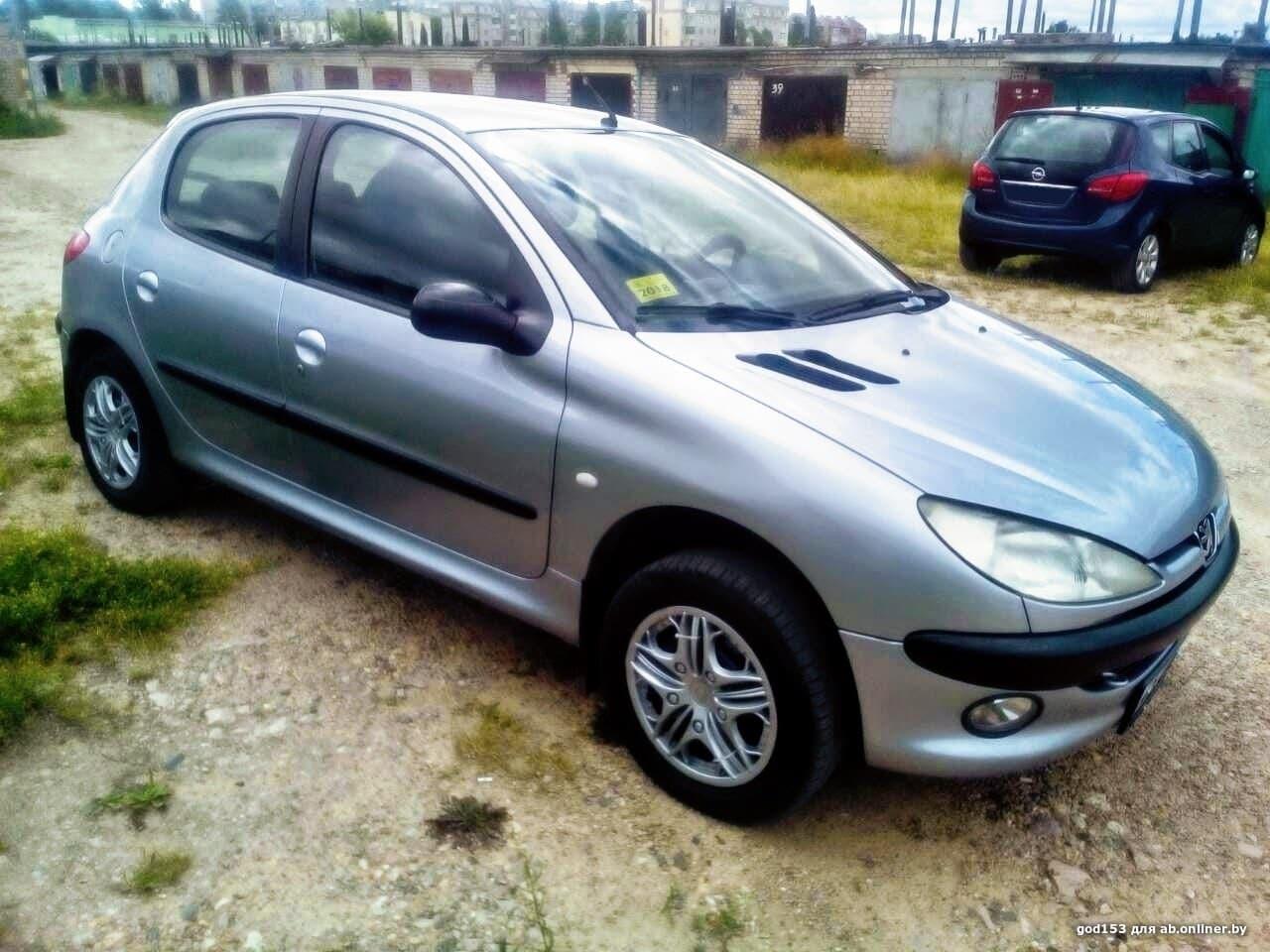 Peugeot 206 1.4 i 75Hp MT
