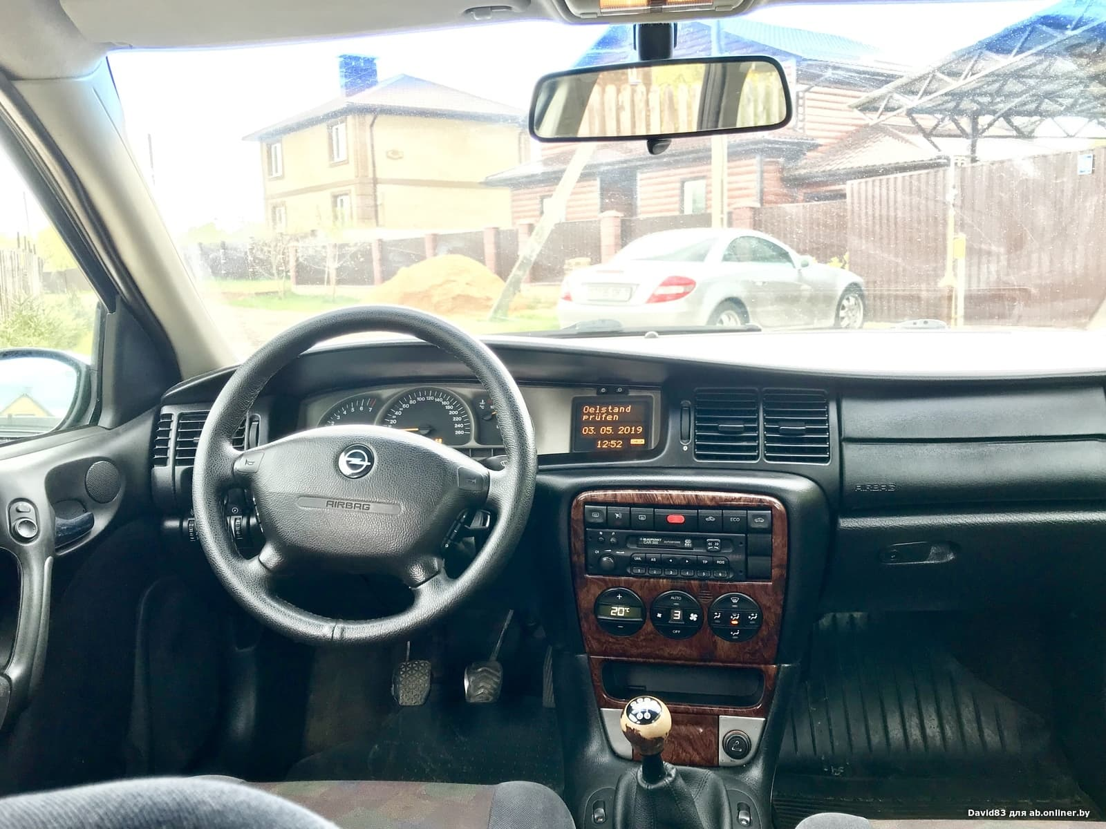 Opel Vectra В рестайлинг