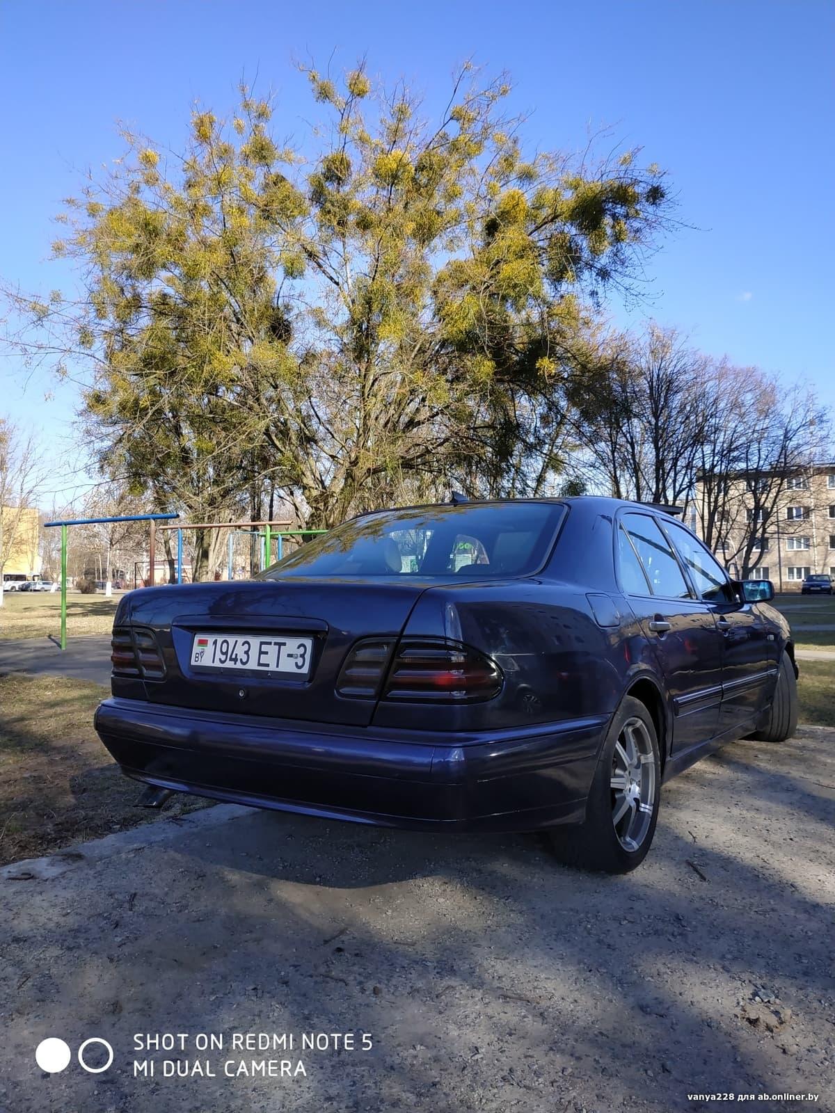 Mercedes-Benz E290 авангард