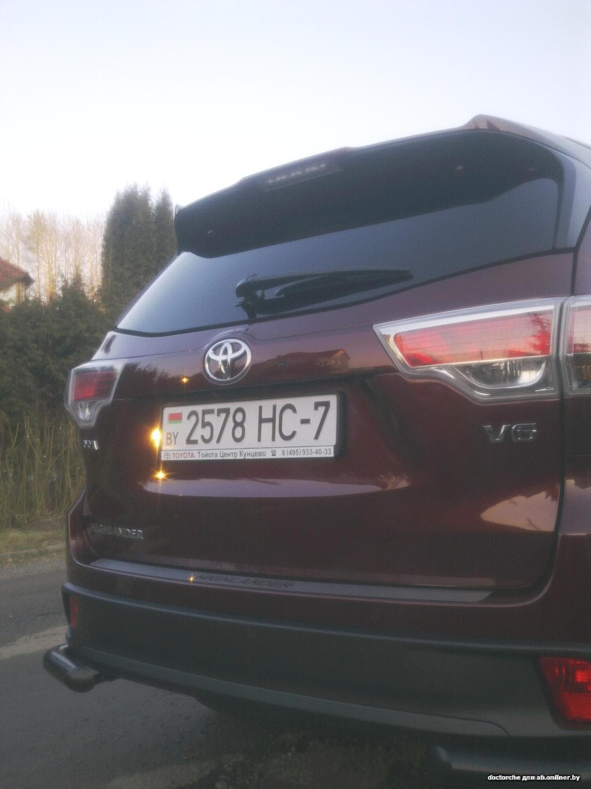 Toyota Highlander III U 50_ЛЮКС V6 3.5 4WD