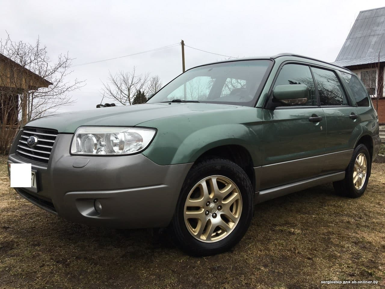 Subaru Forester Заводской газ
