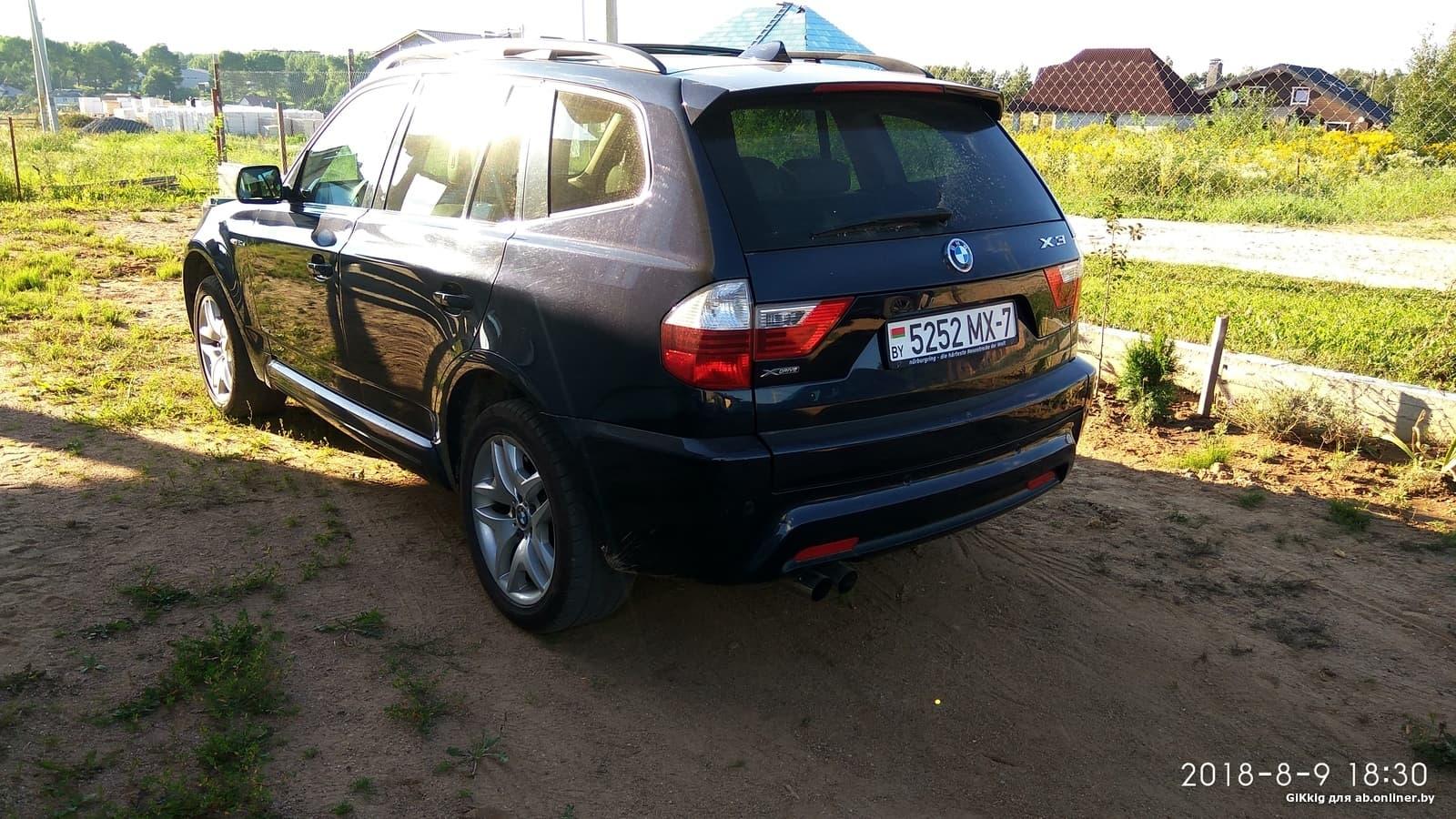 BMW X3 si rest