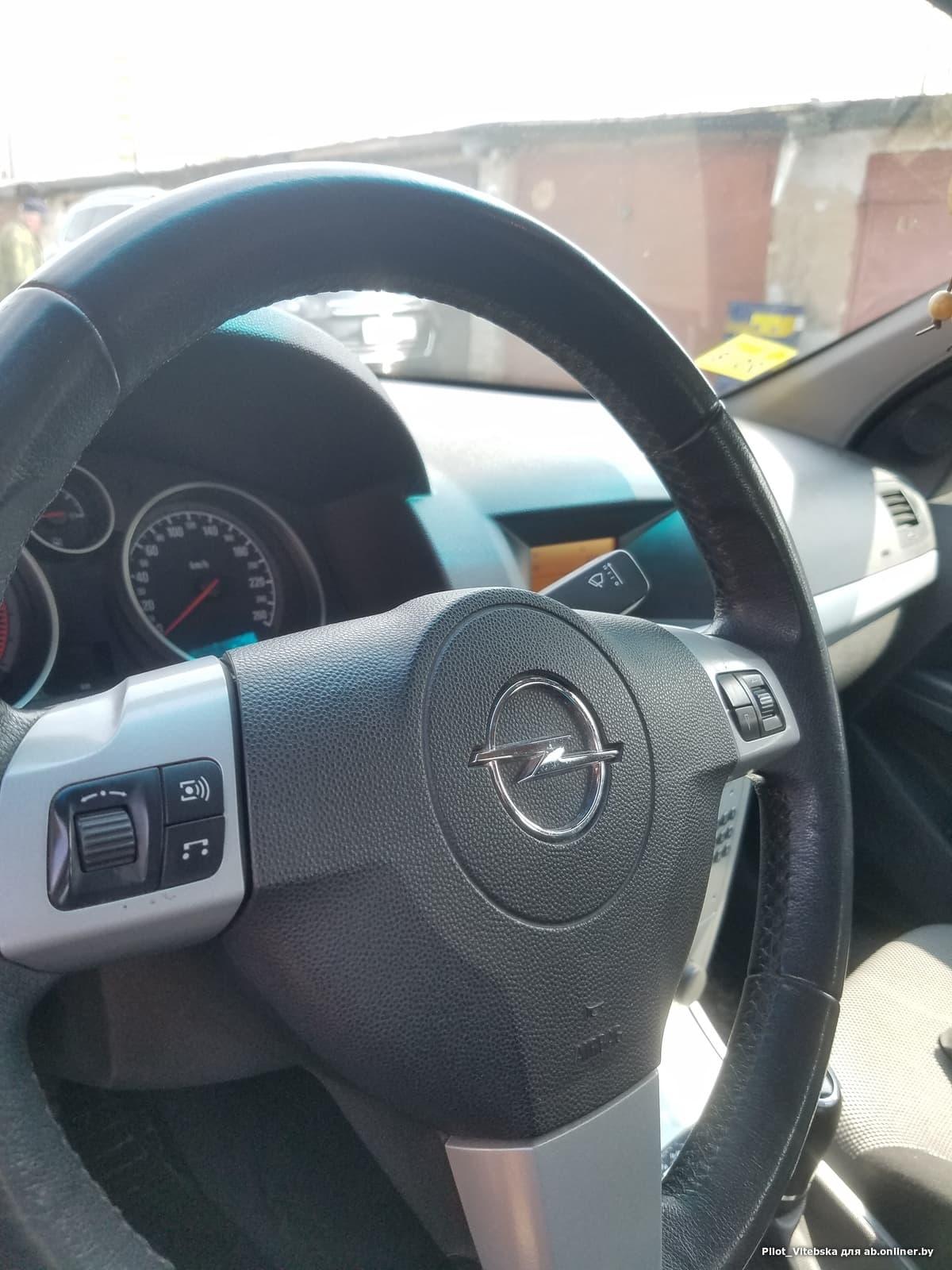 Opel Astra H Рестайлинг