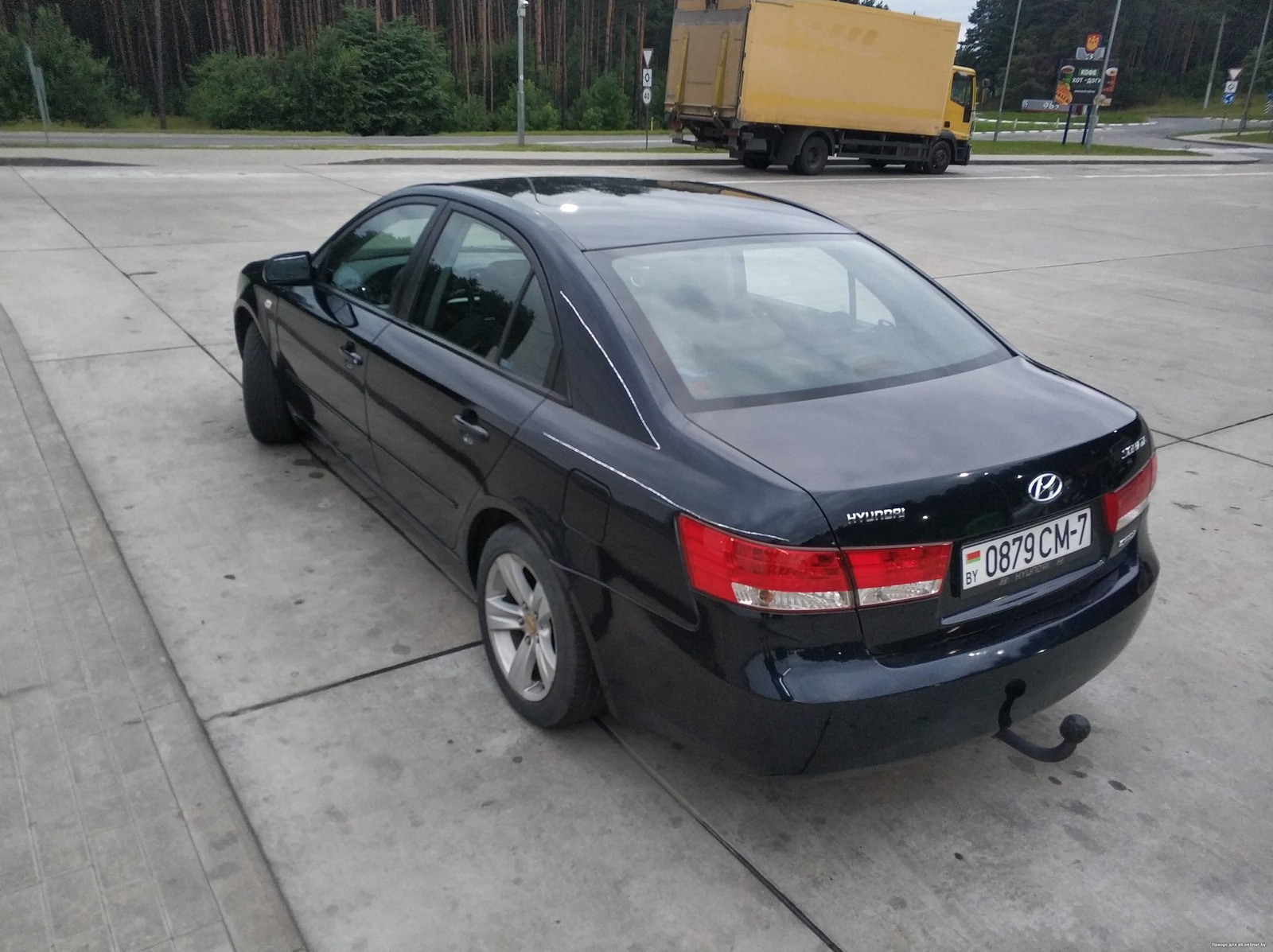 Hyundai Sonata NF CRDI