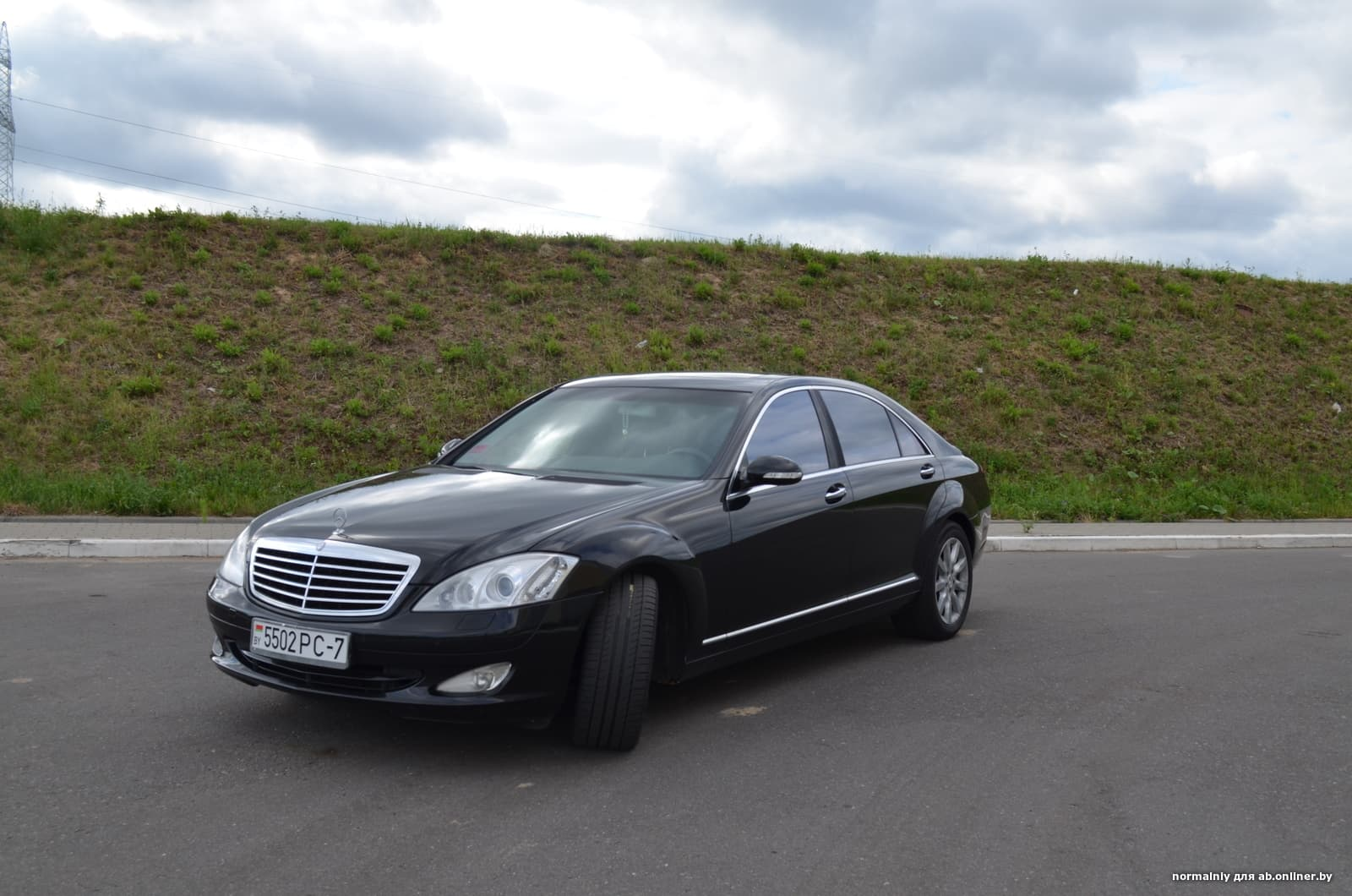 Mercedes-Benz S550 Long