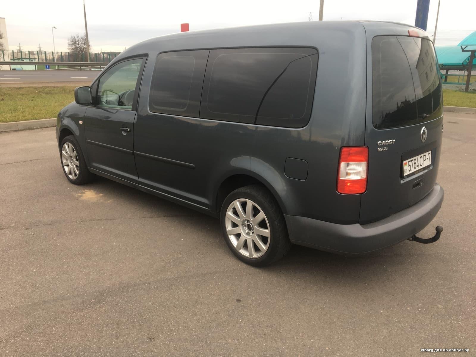 Volkswagen Caddy Maxi 7-мест