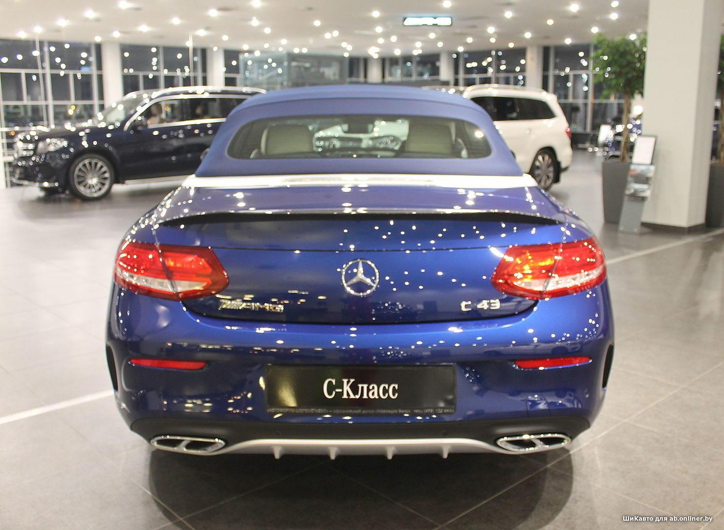 Mercedes C43AMG Cabrio