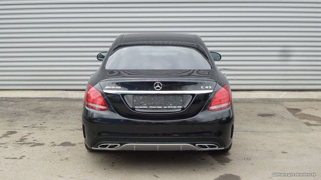 Mercedes C43AMG 4MATIC Особая серия