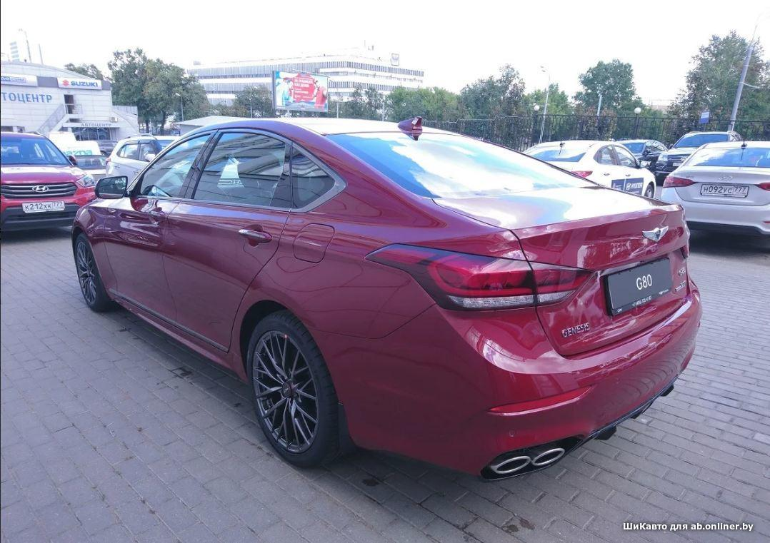 Genesis G80 3.3 ULTIMATE 8AT 4WD