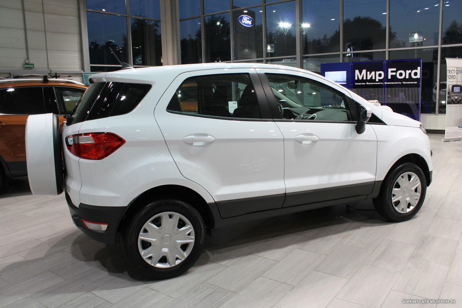 Ford EcoSport TREND 1.6 АКПП 2WD
