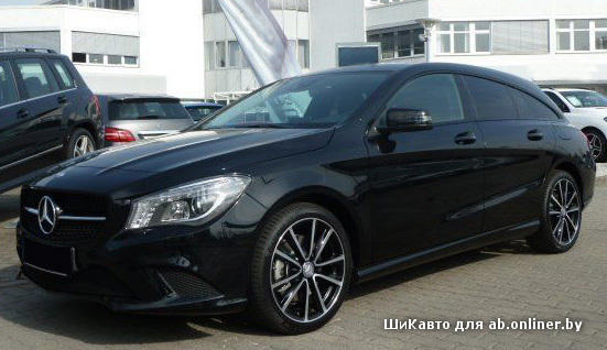 Mercedes CLA200 Shooting Brake