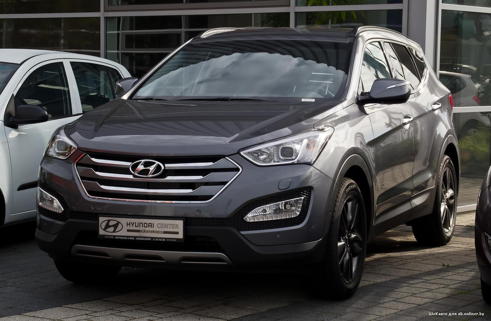 Hyundai Santa Fe 2.4i 6MT AWD