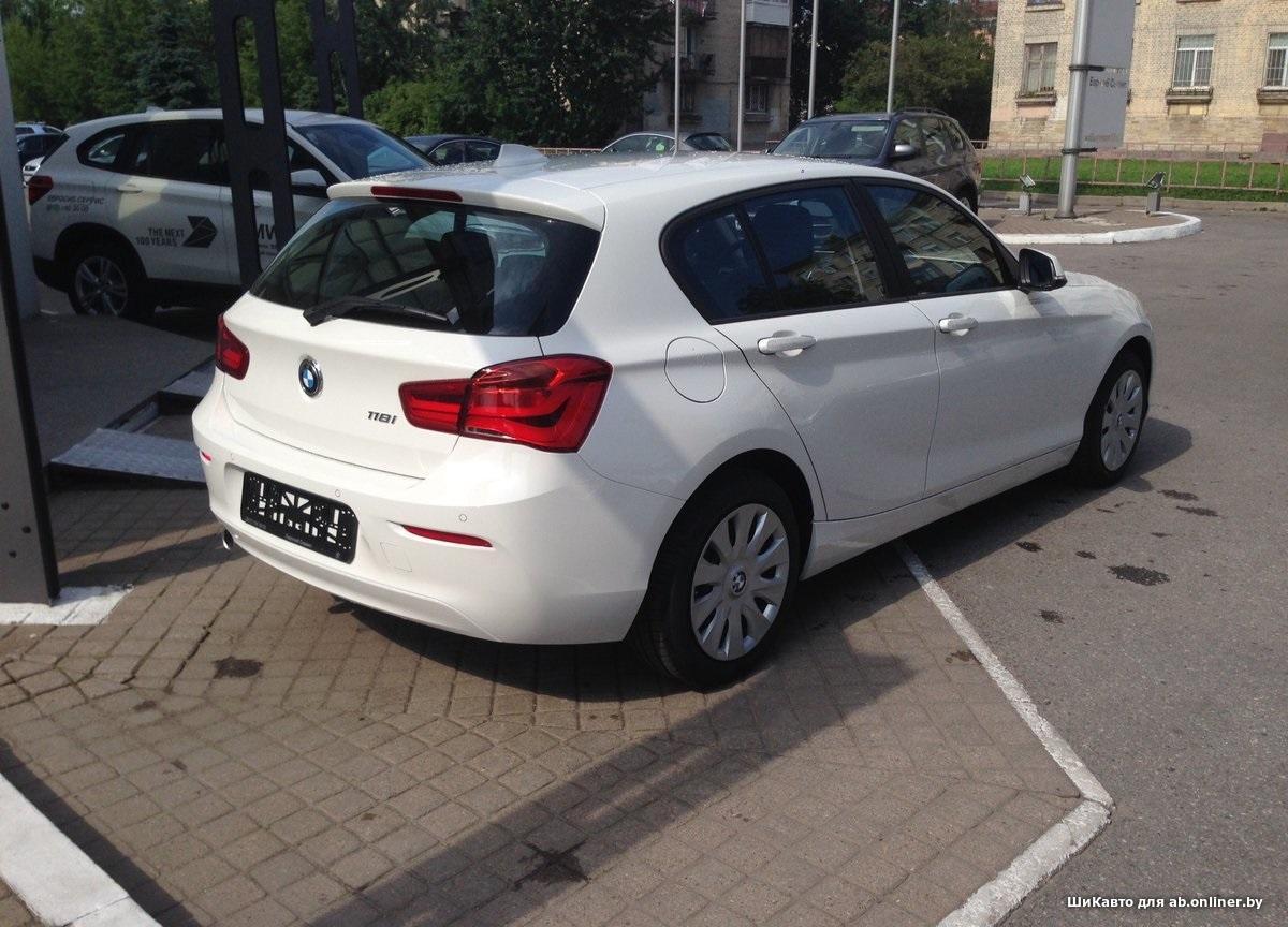 BMW 118 Special Edition