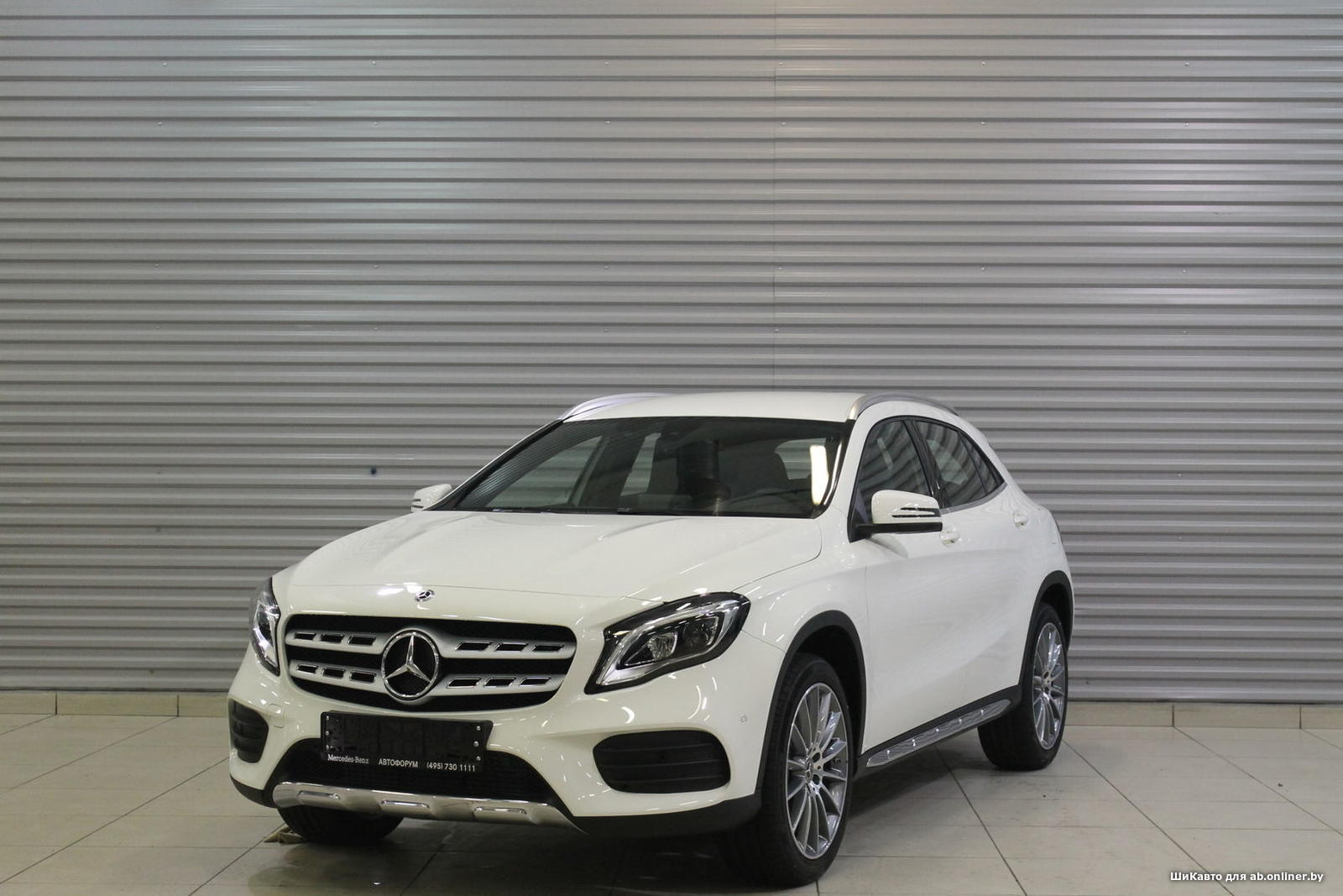 Mercedes GLA250 4MATIC Особая серия