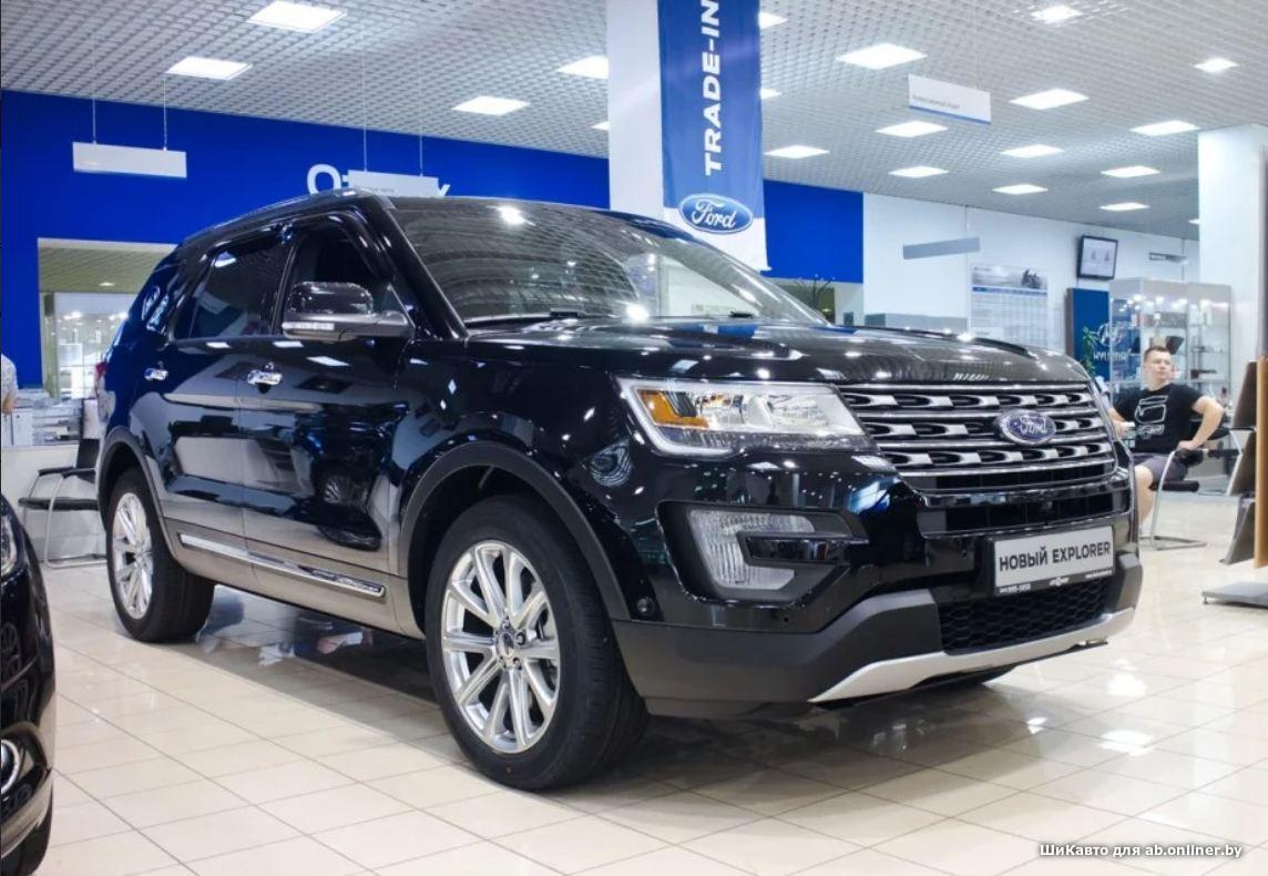 Ford Explorer Limited+  3.5 6AT