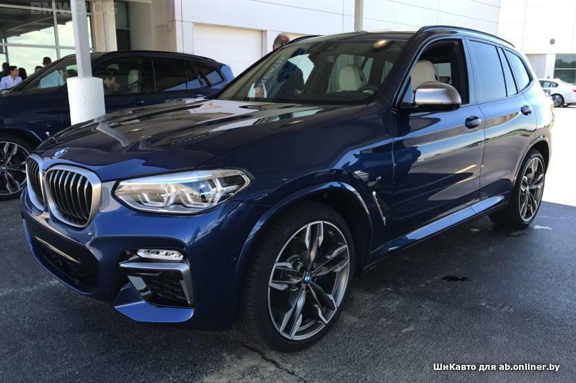 BMW X3 Новый G01 M40i
