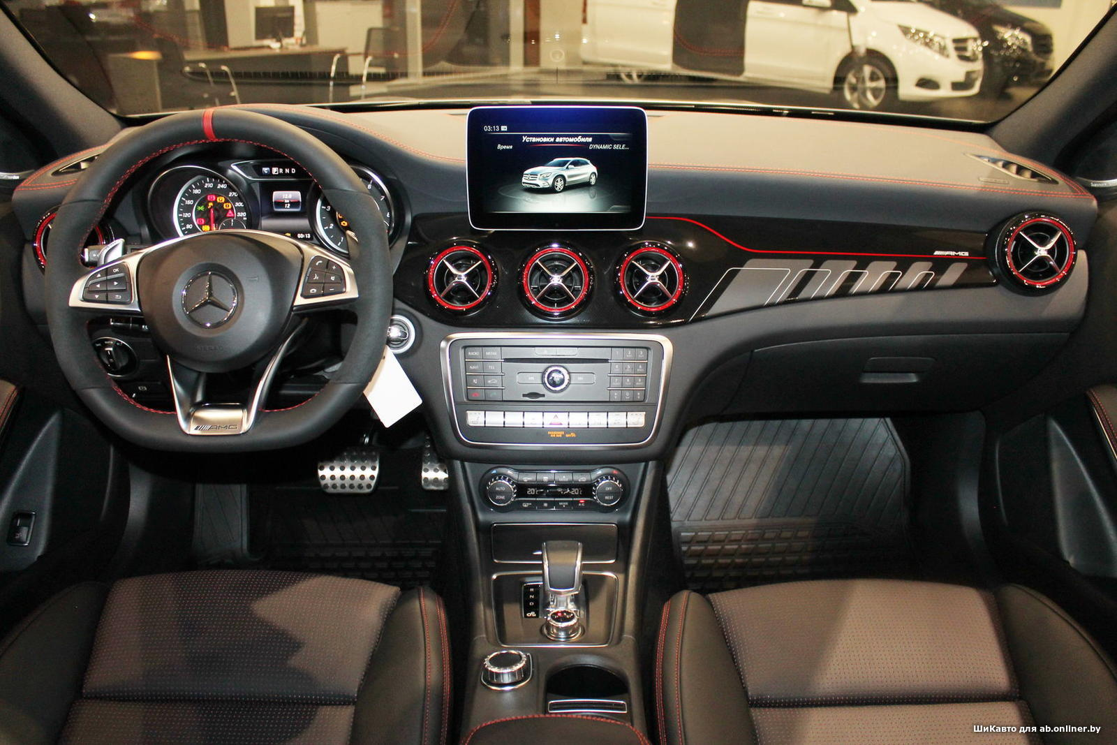 Mercedes GLA45 AMG Особая серия