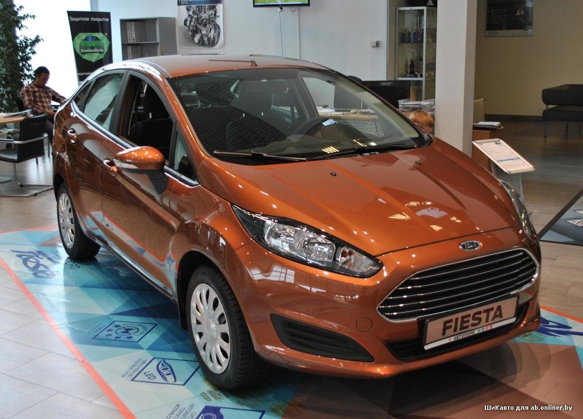 Ford Fiesta Sedan 1.6 MT