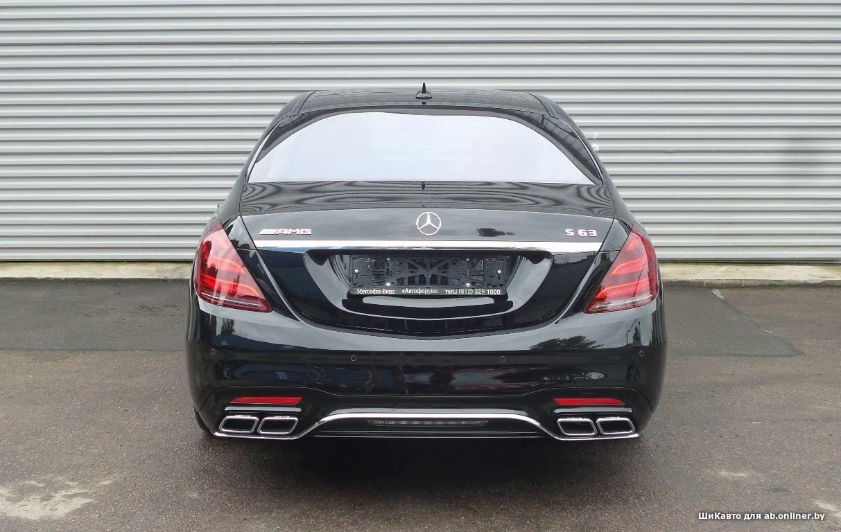 Mercedes S63 AMG 4MATIC+