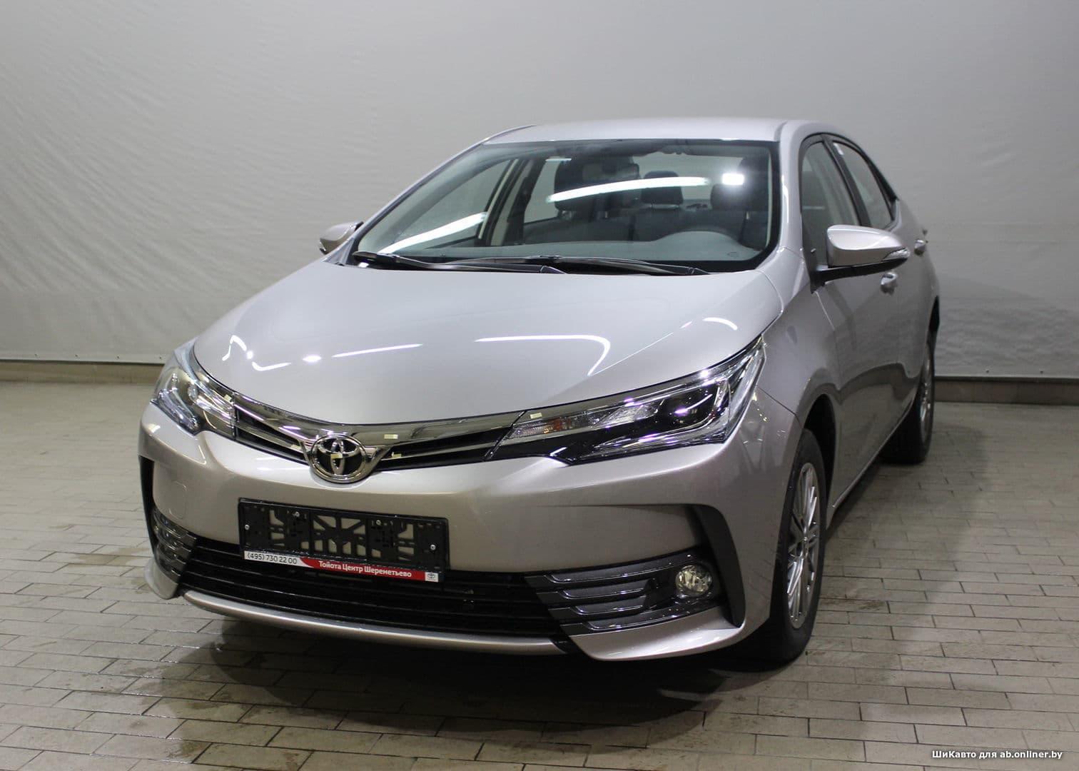 Toyota Corolla Стиль Плюс 1.6 CVT