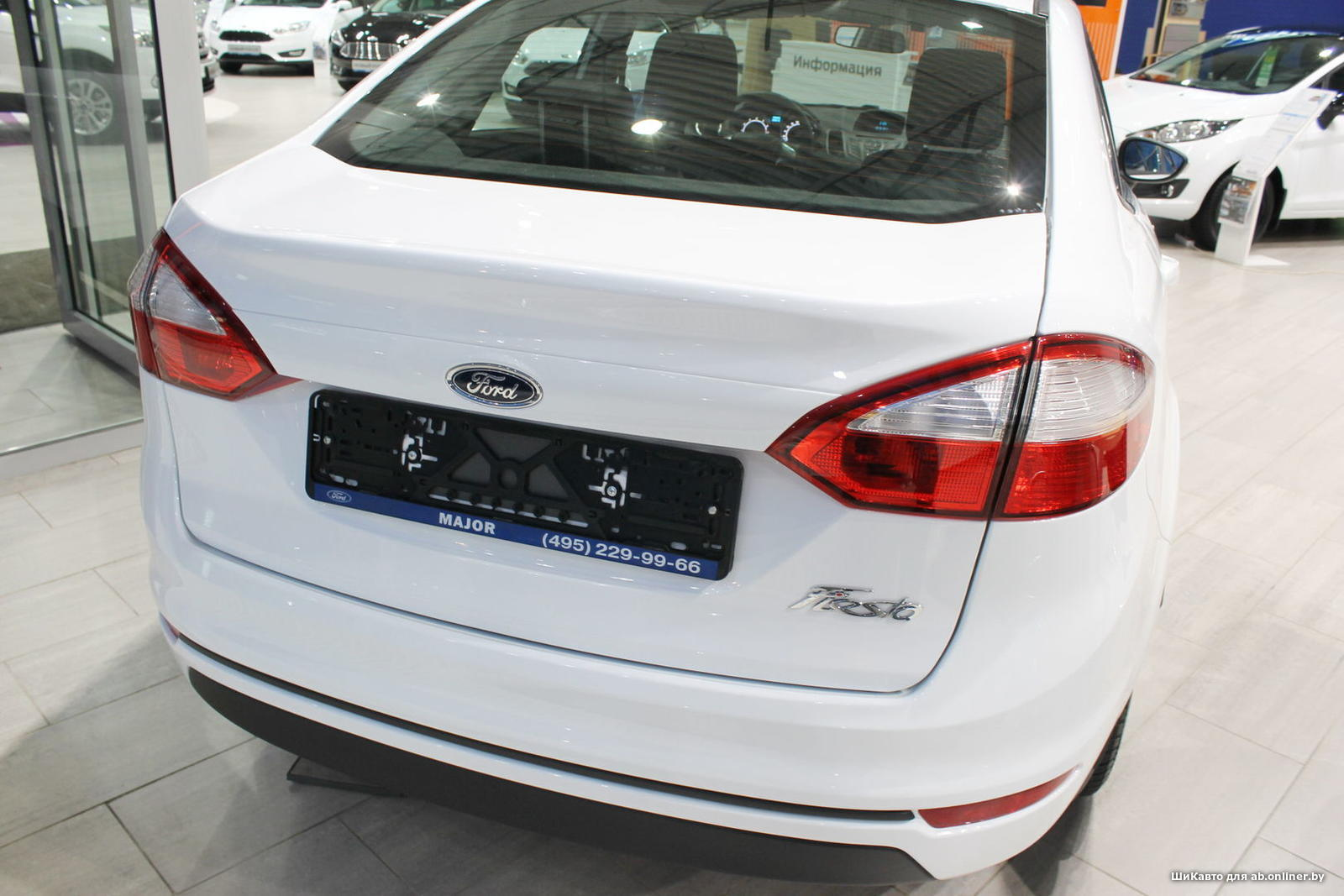 Ford Fiesta TREND AT SEDAN