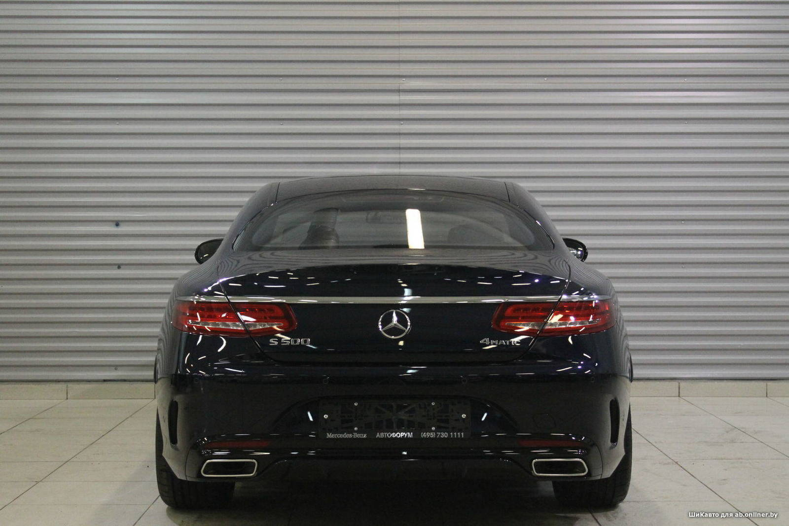 Mercedes S500 Coupe 4МATIC