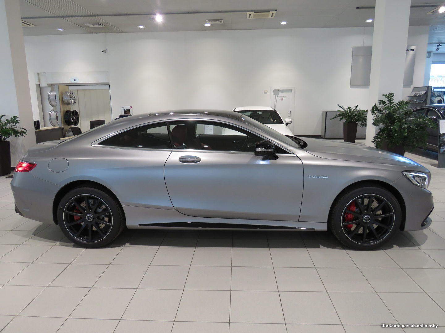 Mercedes S63 AMG Coupe 4МATIC