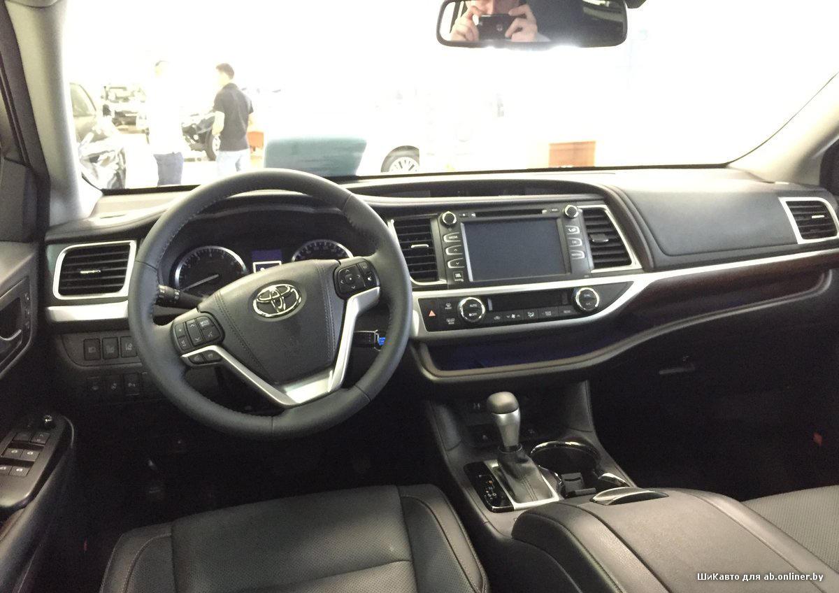 Toyota Highlander III Престиж V6 3.5 4WD