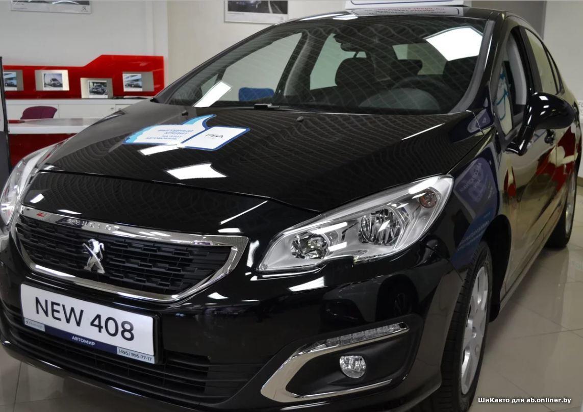 Peugeot 408 1.6 Entry MT5 рестайли