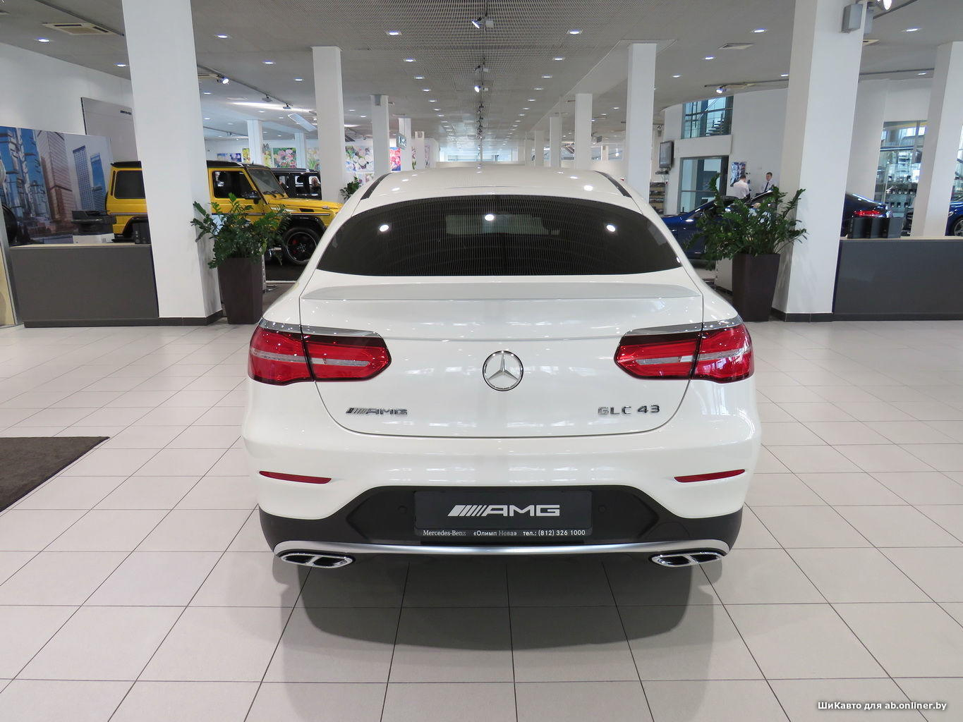 Mercedes GLC43 AMG Coupe 4MATIC