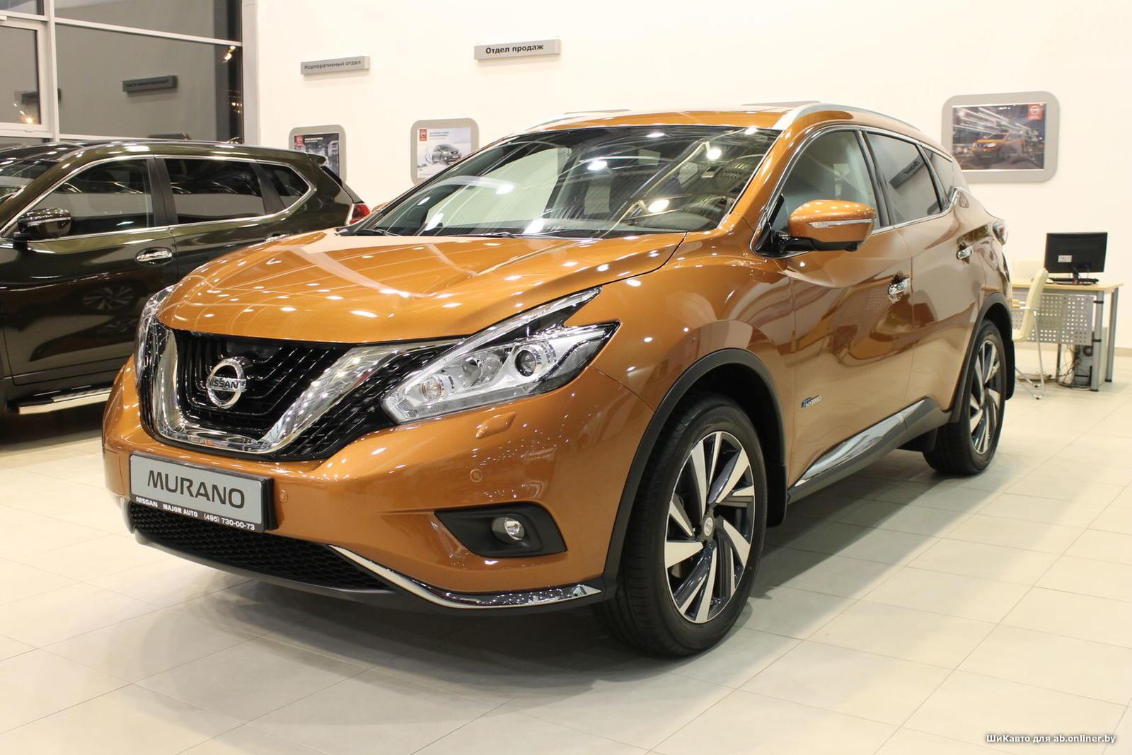 Nissan Murano 2.5 4WD TOP