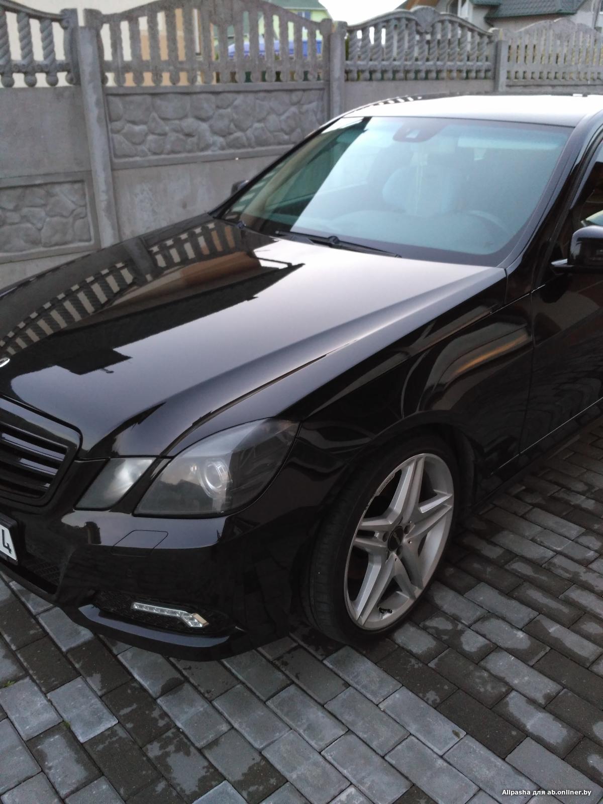 Mercedes E350 AMG