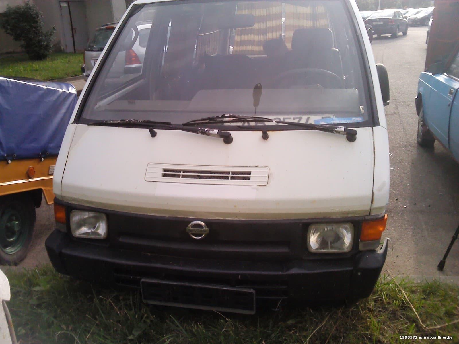 Nissan Vanette гр\пассажир