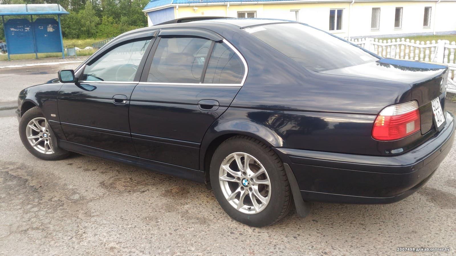 BMW 525 е39 525I 192л.с