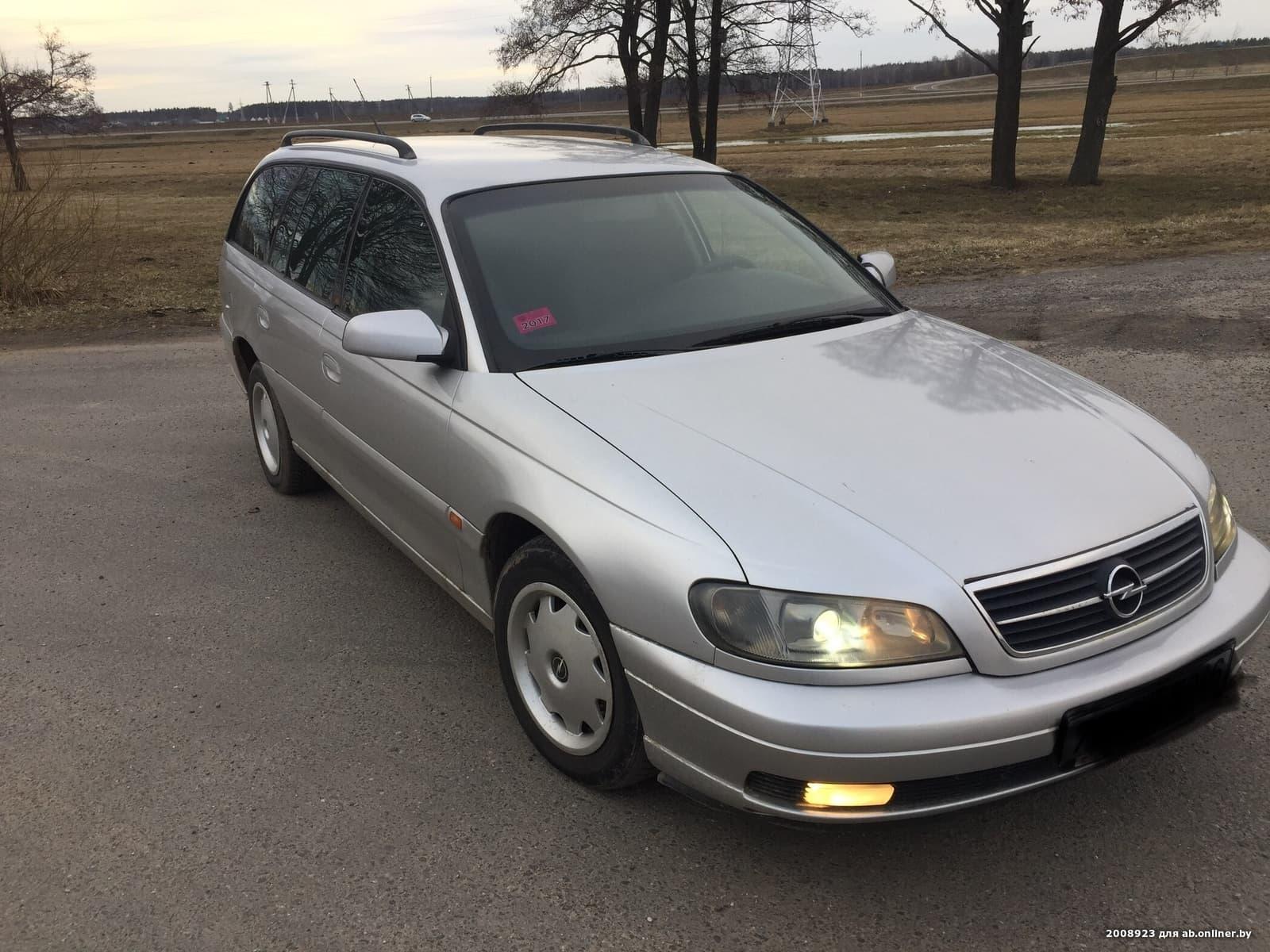Opel Omega Рестайлинг