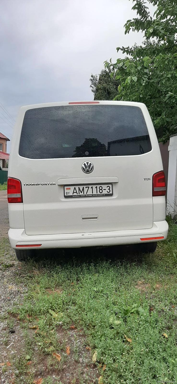 Volkswagen T5 грузопассажирск