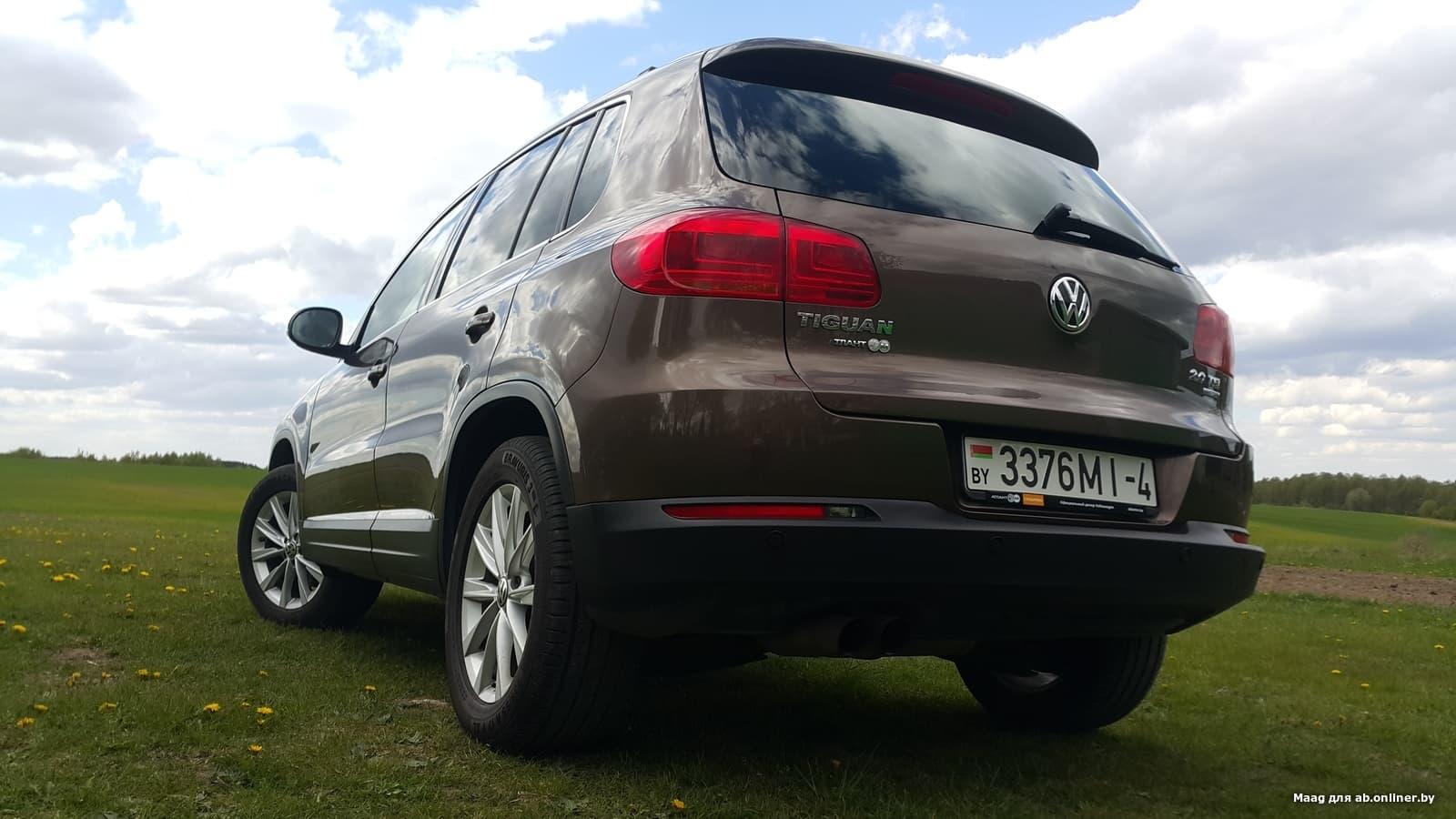 Volkswagen Tiguan 4Motion Sport&Style