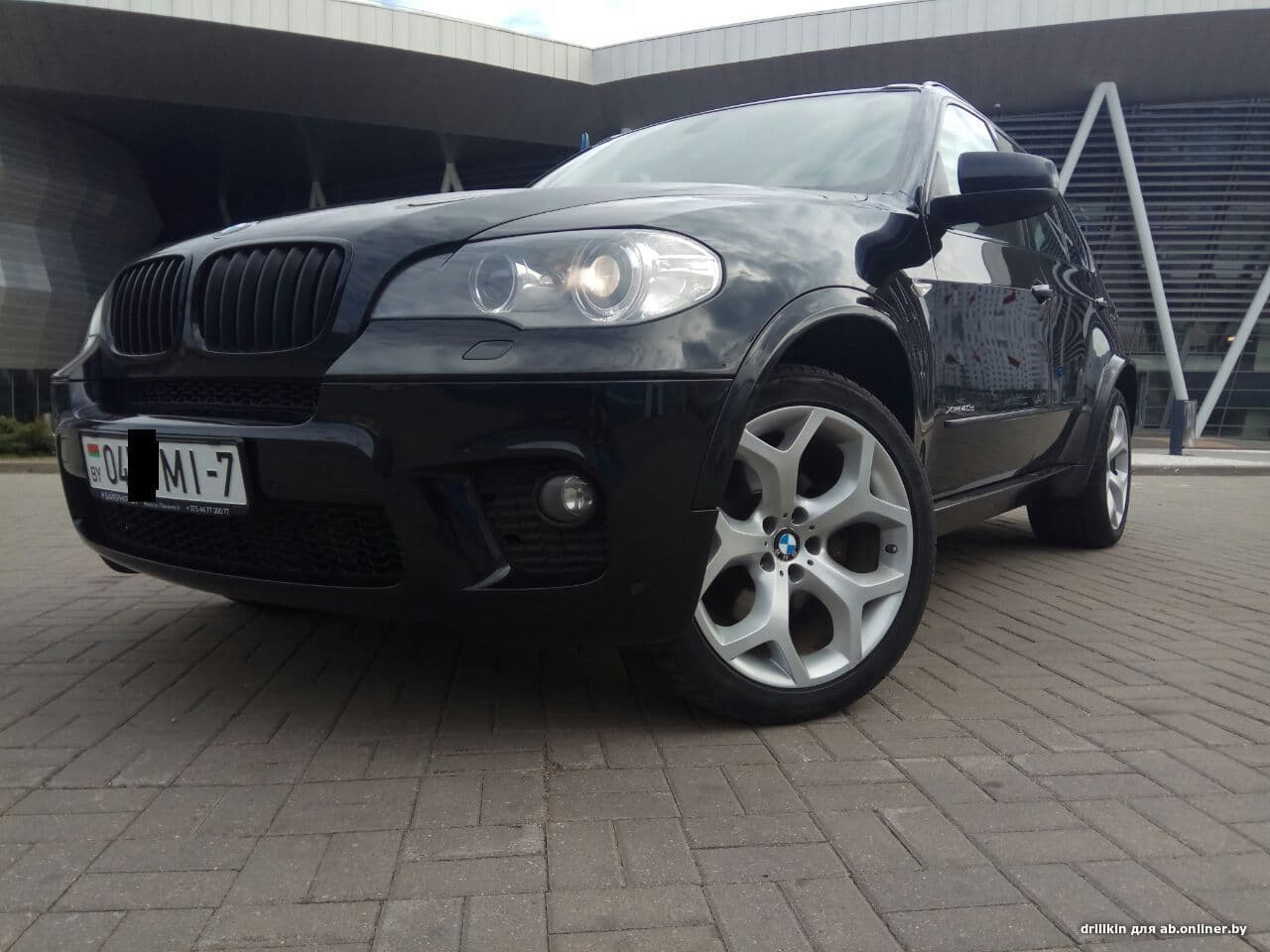 BMW X5 4.0D M pack