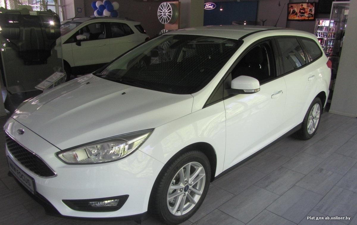 Ford Focus Cync edition