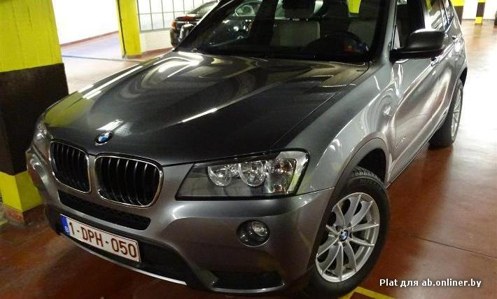 BMW X3 xDrive20dA 163PK Pack Business
