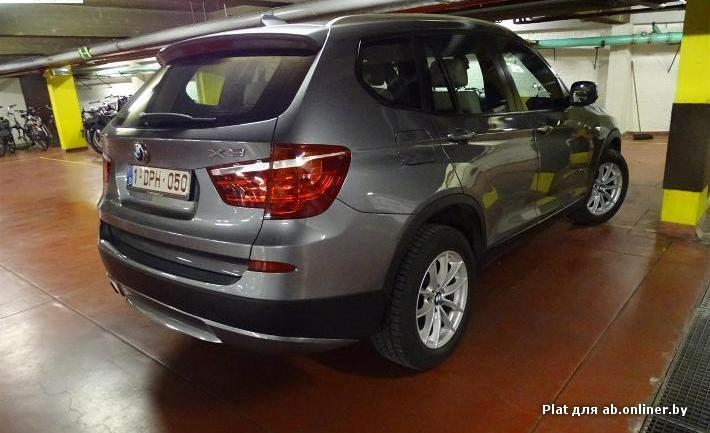 BMW X3 xDrive20dA 163PK Pack Business