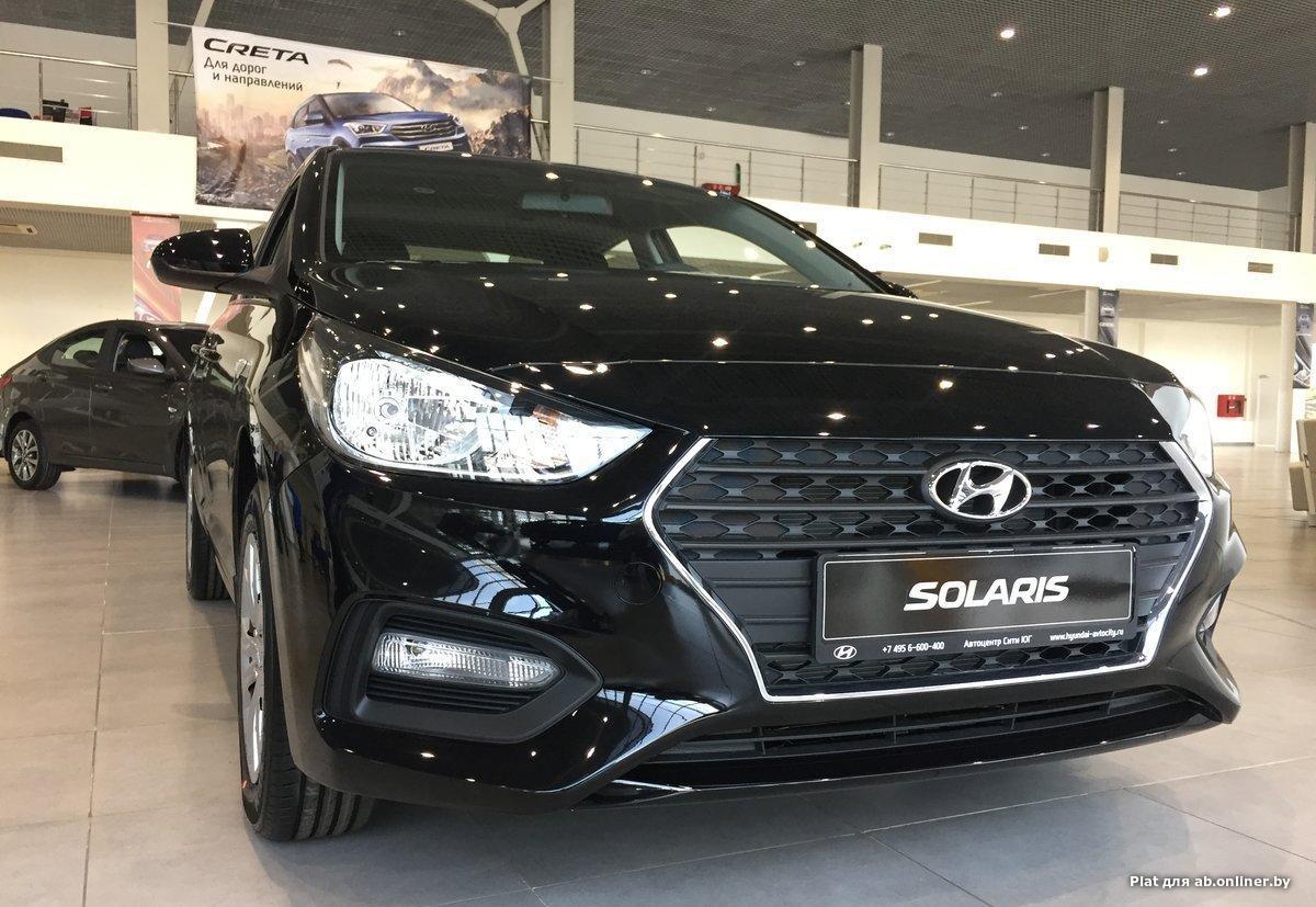 Hyundai Solaris Active флит