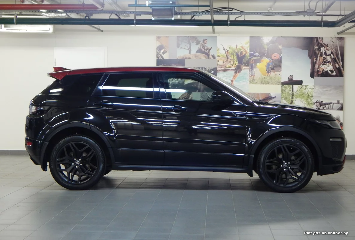 Land Rover Range Rover Evoque Red LE