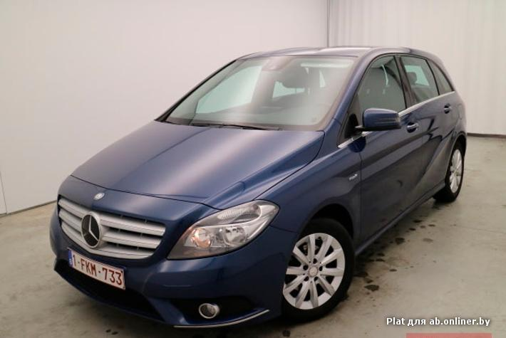 Mercedes B180 180CDI BE 109pk 6v Leather Nav