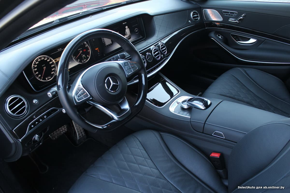 Mercedes S500 4MATIC Long с НДС