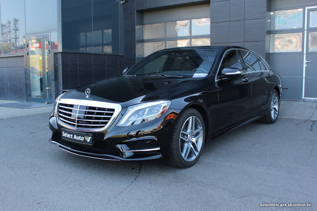Mercedes S500 4MATIC Long с НДС
