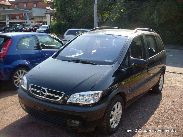 Opel Zafira Sport