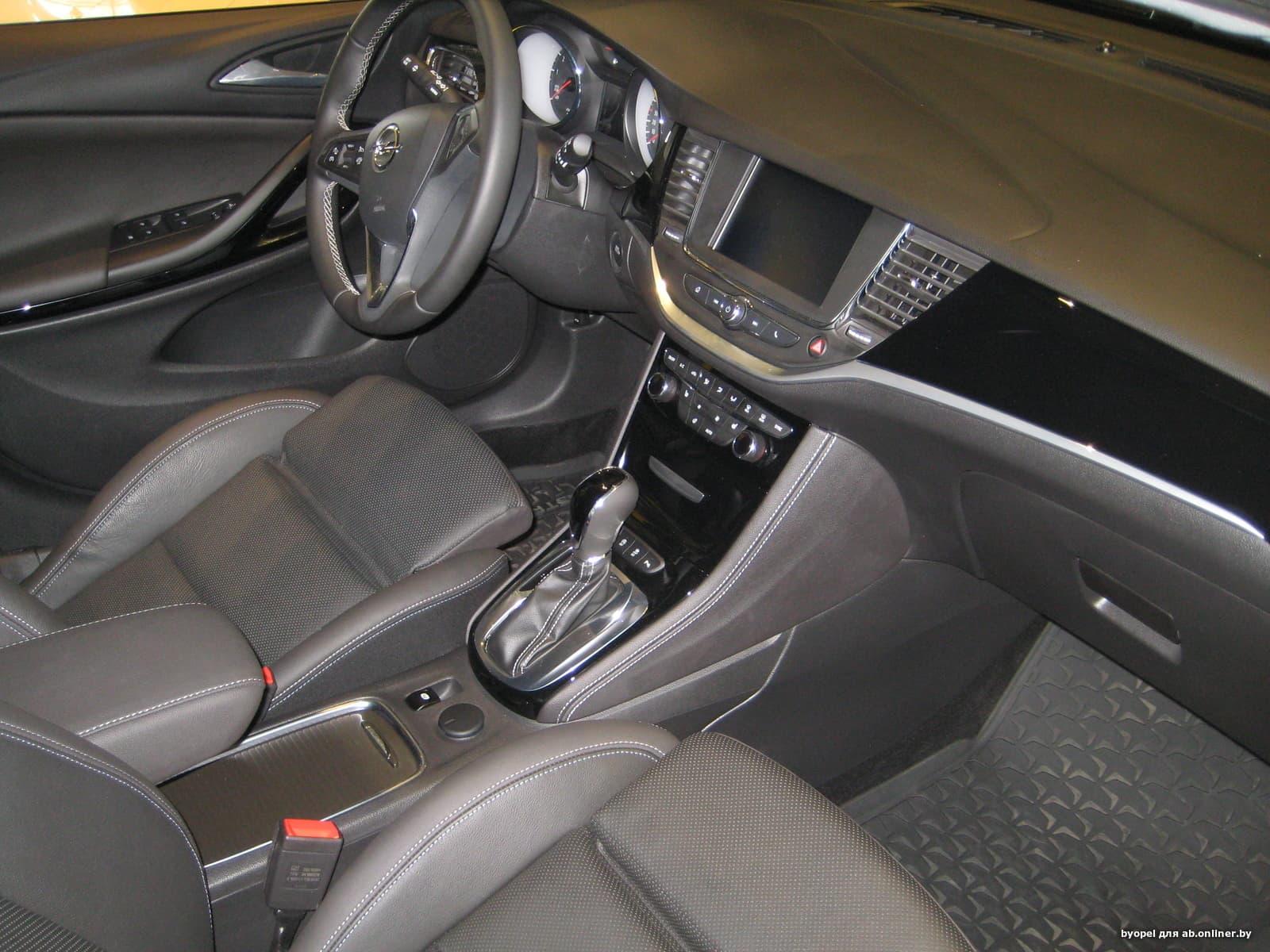 Opel Astra K 1.4 Turbo AT